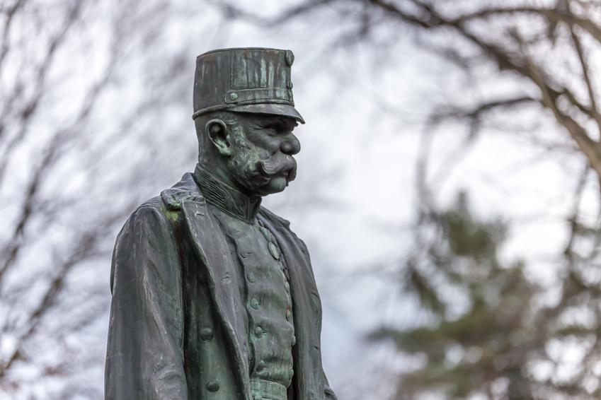 Staute Kaiser Franz Josef in Innsbruck